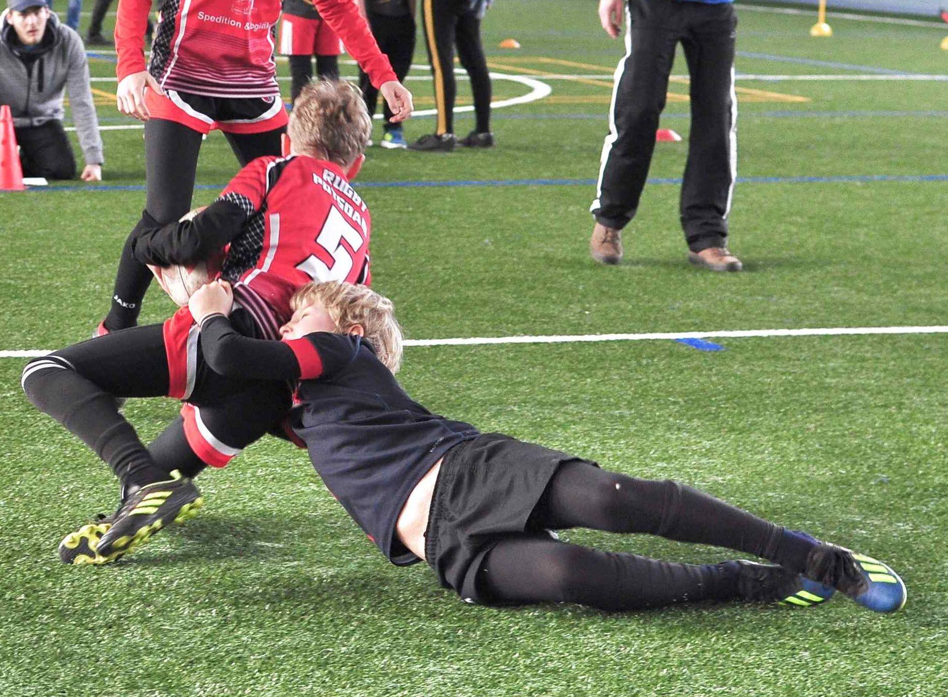 U12 eröffnet Rugby Jubiläumsjahr mit Kracher