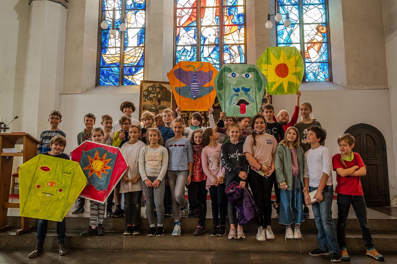 Drachen in der Ursulinenkirche