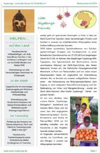 Siyabonga Spendenbericht