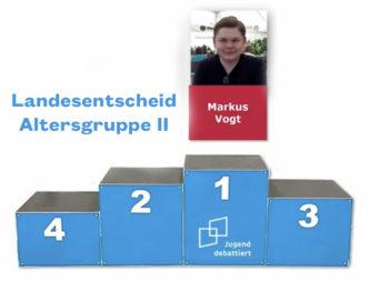 Bester Debattant Thüringens aus der ESS