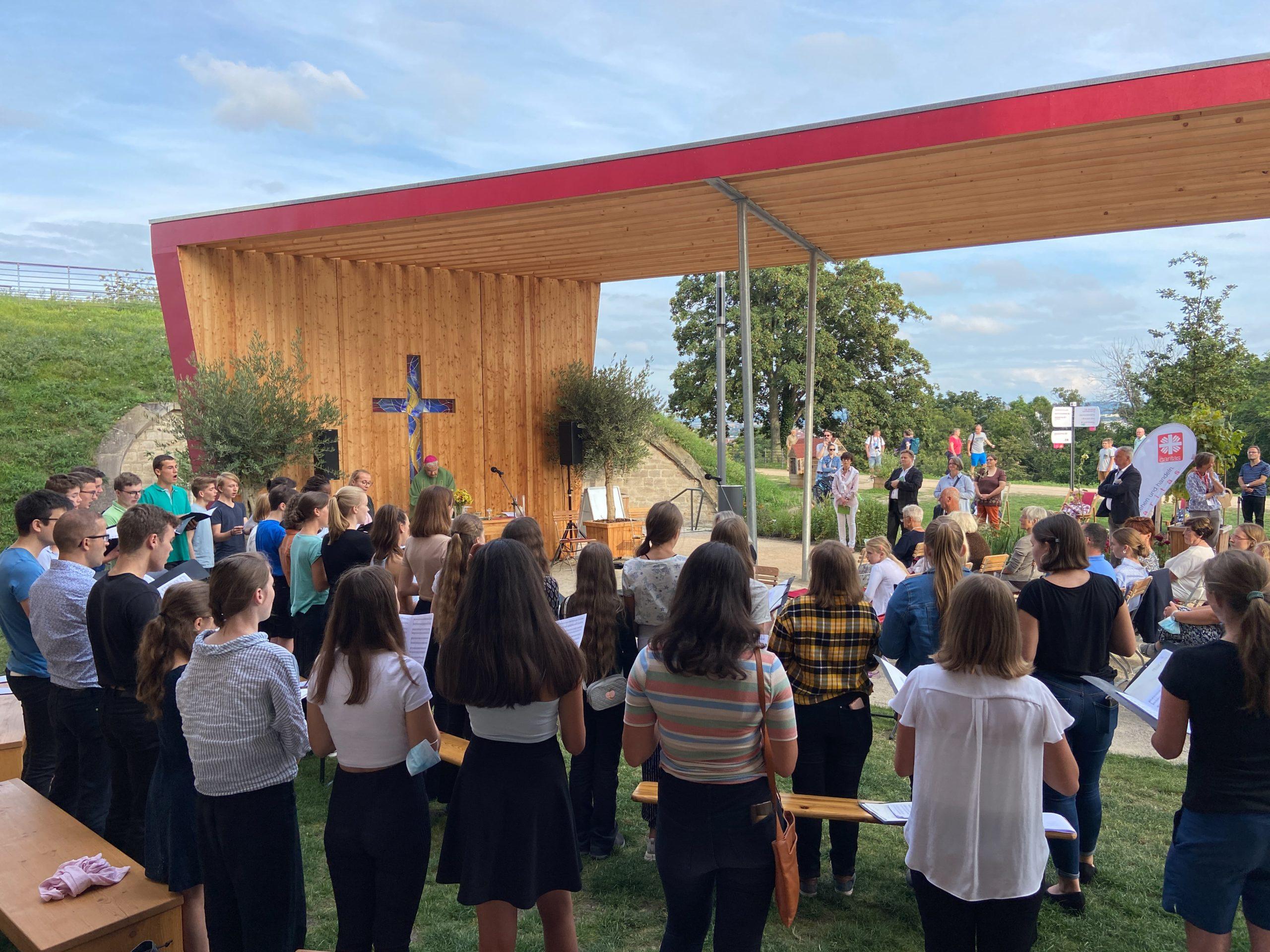 Kurzkonzerte des Kinderchores ESS-Kids und des Jugendchores VoicESS auf der BUGA